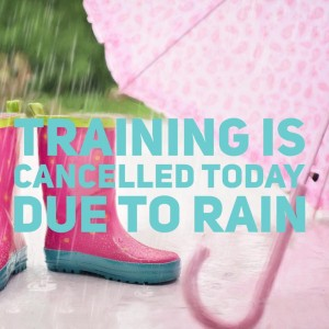 training cancelled pic